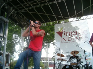 Gin Blossoms, IN Vintage Wine Fest, 6-6-09 005