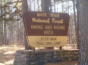 Berryman Trail Sign
