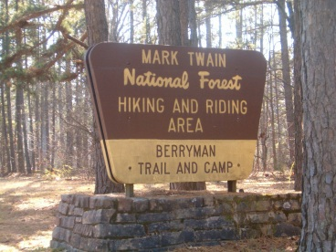 Berryman Trail Sign