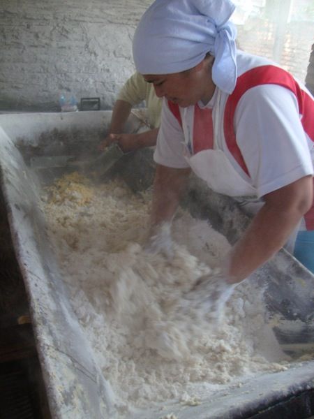 A Cloud of Manioc Flour