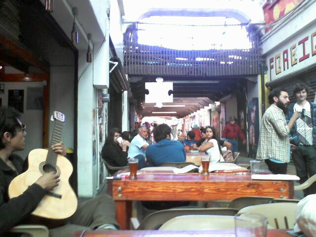 Mamut Brewery.  Pasaje Rodriguez. Tijuana, Mexico.