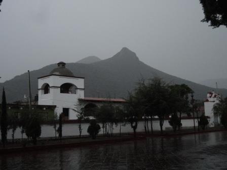Town Square, Teotitlan del Valle, Oaxaca