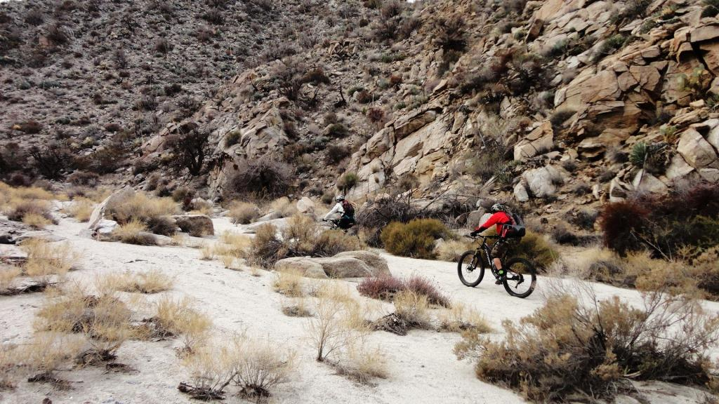 Fat Biking Pinyon Mountain Road In The Anza Borrego Desert James