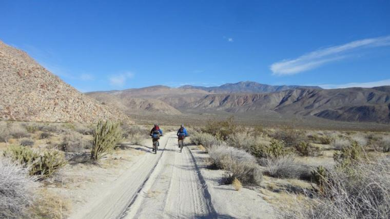 Bike Packing Coyote Canyon