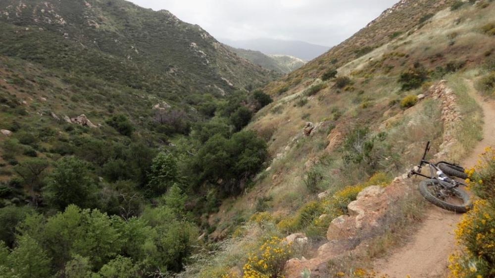 Fat Bike, Hollenbeck Canyon, San Diego