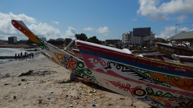 Plage Soumbedioune, Dakar, Senegal
