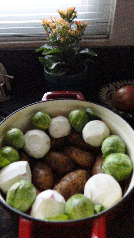 potatoes and turnips