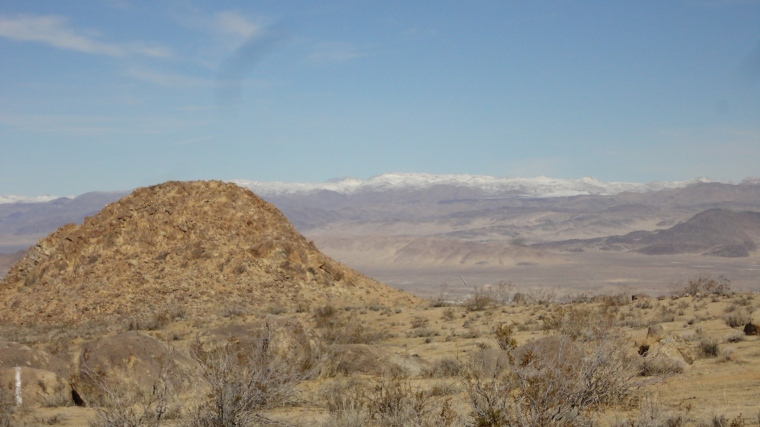 A Haystack in the High Mojave Desert