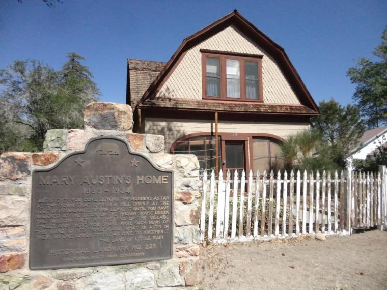 Mary Austin home, Independence, CA